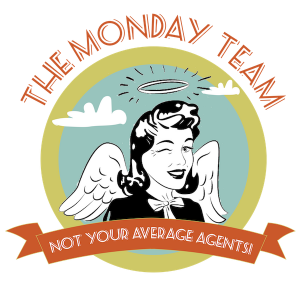 the Monday Team Real Estate Agents Logo
